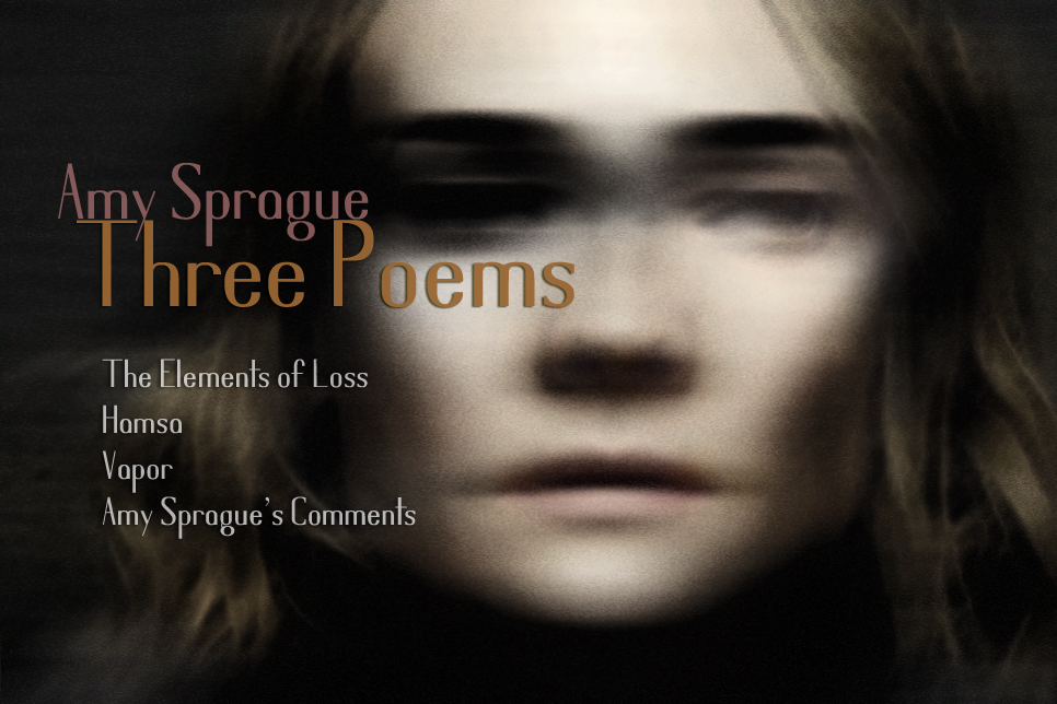 Artwork for Amy Sprague's poems