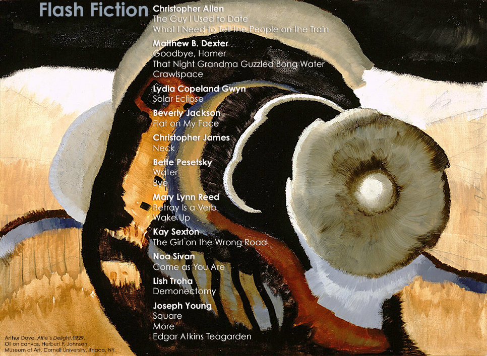 Artwork for flash fiction in The Shame Issue