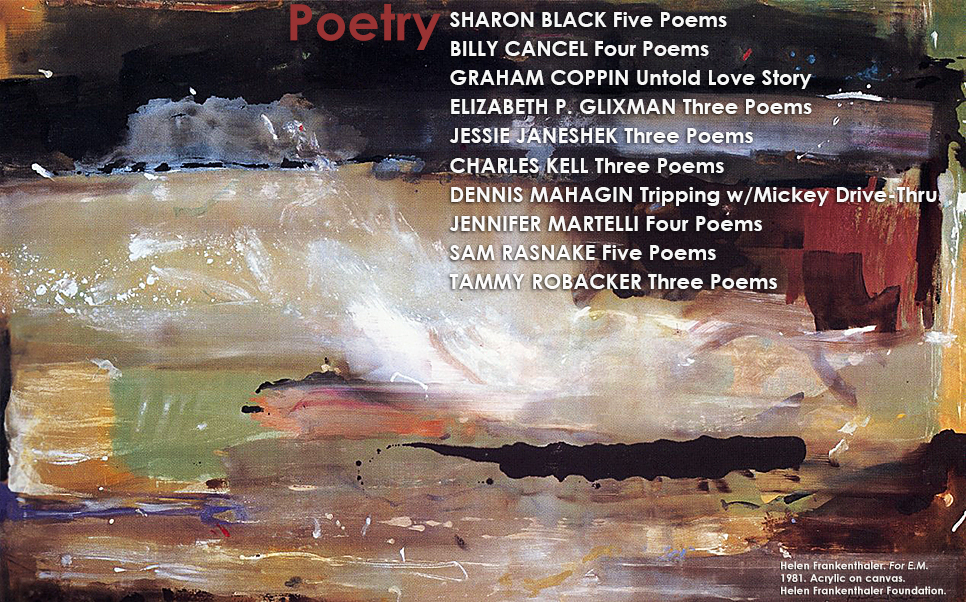 Artwork for poetry in The Shame Issue
