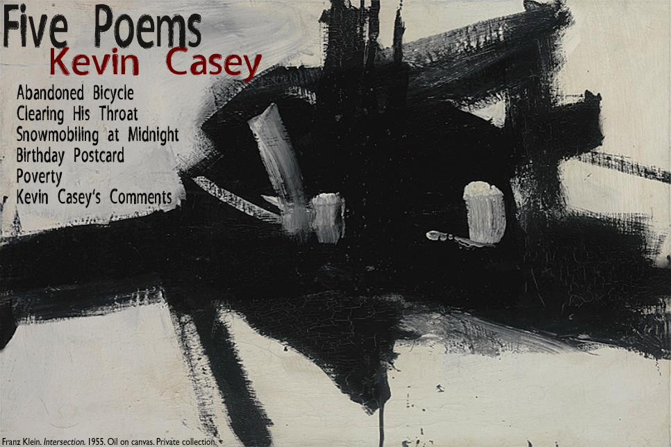 Artwork for Kevin Casey's poems