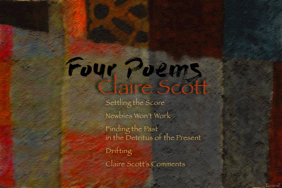 Artwork for Claire Scott's poems